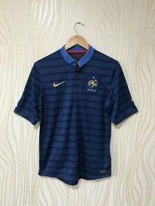 FRANCE 2012 2013 HOME FOOTBALL SHIRT SOCCER JERSEY NIKE 449680-405