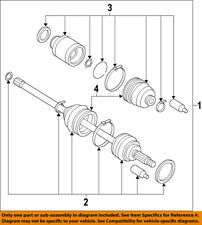 SUBARU OEM 10-13 Forester Front Drive-CV Shaft Axle Assy 28321SC033