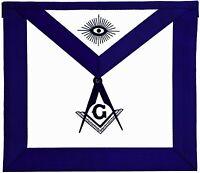 FREEMASON Master Mason Masonic **Embroidered** Apron $29 Lowest Price USA Seller