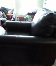 Leather Large One Seat Couch Excellent Condition