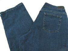 Riders Eased women Jeans size 10 M denim blue 130225N relaxed fit Cotton stretch