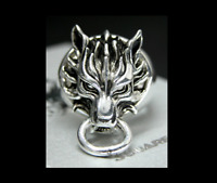 Final Fantasy VII Cloud Strife Cloudy Wolf Ring | FF7 Dissidia Cosplay Sephiroth