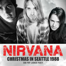 NIRVANA New Sealed 2018 UNRELEASED LIVE 1988 SEATTLE RARITIES & MORE CD
