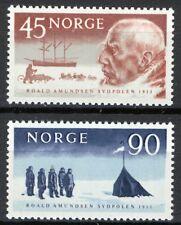 Norway 1961, Roald Amundsen 50th anniv south pole arrival MNH Sc 399-400