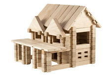 IGROTECO House with Balcony Building Set DIY Wooden Construction Set 3D Puzzle 1