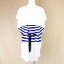 Sonia Rykiel señora vestido 85267431 s 36 m 38 Jersey marítimo camisa vestido NP 189 nuevo