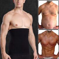 Men Fat Burner Sauna Tummy Tuck Belt Body Shaper Girdle Belly Slim Waist Trainer