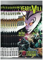 DC's Year of The Villain #1 Greg Capullo x10 Comic Lot