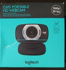 NEW Logitech C615 Portable HD Webcam 1080p
