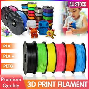 1.75mm 3D Printing Filament 1KG Spool PLA ABS PETG Printer Engineer Drawing Art