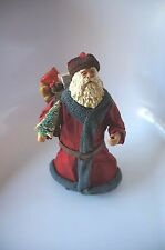 OLD WORLD STYLE STANDING SANTA CLAUS FIGURE