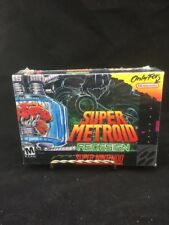 SEALED! SUPER METROID REDESIGN  Super Nintendo Game By Timewalk RARE SHIPS FREE.