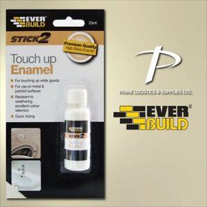 Enamel Touch Up Paint Everbuild Chip Repair Washing Machine Fridge Bath ISO 9001