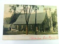 Vintage Postcard 1907 St. James Episcopal Church Gosh NY New York Posted