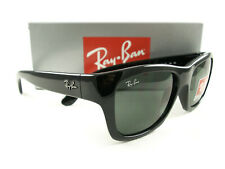 Ray-Ban Sunglasses RB4194 Black Green 601 New Authentic