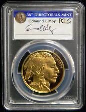 2017 W $50 Gold American Buffalo PCGS PR70 DCAM FDOI Denver * ED MOY * Tag #SP56