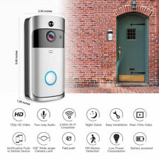 Wireless WiFi Video Doorbell Intercom Home Security Camera for iPhone Android