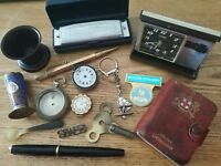 job lot of vintage collectables including silver