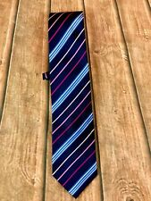 Tom English Pure Silk Tie Menswear Quality Clothing Office Work Smart Casual