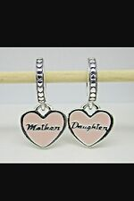 Authentic Pandora Mother And Daughter Hearts Charm 792072EN40