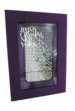 JIMMY CRYSTAL New York  Grey  Rhinestones IPHONE 4& 4S CASE Msrp $175.00