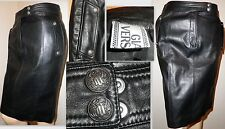 Gianni Versace  leather skirt IT 40