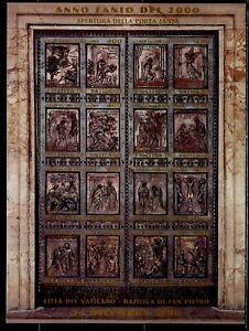 VATICAN Sc#1136 1999 Opening of Holy Year Door Souvenir Sheet OG Mint NH