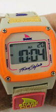 Shark Freestyle Night Vision 100m 330ft Divers Watch Shark Clip Band ~ WORKS