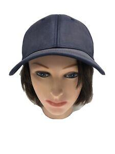 Lululemon Womens Snapback Baseball Hat Blue  One Size With Flaws