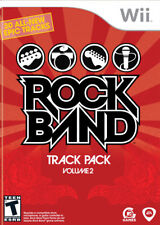 Rock Band Track Pack vol. 2 WII New Nintendo Wii