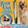 Dog Brushing Fur Hair Electric Grooming Comb Groomer Pet Hair Scissor Trimmer