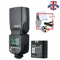 UK Godox Ving V860II-C 2.4G E-TTL Li-on Battery Flash Speedlite for Canon Camera
