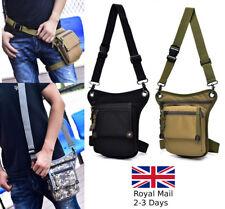 Men Nylon Drop Leg Bum Belt Waist Tactical Sling Outdoor Messenger Shoulder Bag