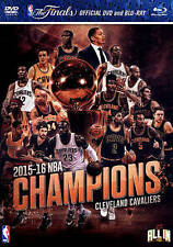NBA: 2015-2016 Champions - Cleveland Cavaliers (Blu-ray/DVD, 2016, 2-Disc Set)