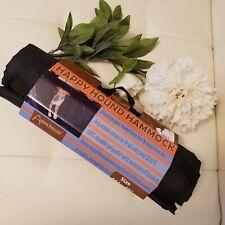"""Dog Hammock Aussie Natural Happy Hound Black Car Waterproof Backing 56' X 59"""""""