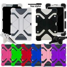 "Universal Shockproof Silicone Stand Cover Case For Various 10"" Tablet + Stylus"