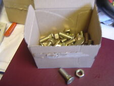 Ferguson  plough  bolts   25 x 7/16 x  35tmm fit mould boards and points