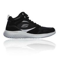 Skechers Mens Bounder-Hyridge Walking Shoe Black Sports Outdoors Breathable