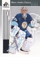2011-12 SP Game Used Hockey #78 Marc-Andre Fleury Pittsburgh Penguins