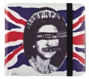 """The Sex Pistols """"God Save The Queen"""" Bifold Wallet Official BRAND NEW + FREE DEL"""