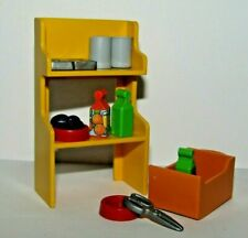 Playmobil Kitchen Shelf, Firefighter Water Pomp, laboratory supplies
