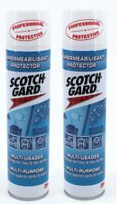 2 X 400ML Scotchgard Protective Spray Multi-Purpose Fabric Clothing Protector