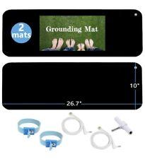 8 Conjunto de puesta a tierra Kit Meditación cable de banda de conexión a tierra esterilla para yoga curación natural del cuerpo