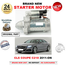 FOR MERCEDES BENZ CLS C218 COUPE STARTER MOTOR 2011-> 220 250 BLUETEC CDi 4MATIC