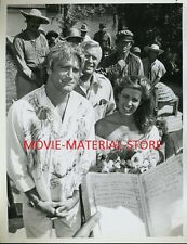 George Peppard Barry Van Dyke Marla Heasley The A-Team Original 7x9 Photo #K4313