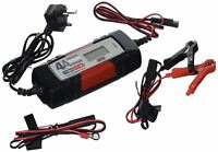 MAYPOLE 7423 Electronic Car Battery Charger Smart Fast Trickle Pulse Modes 4 AMP