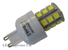 G9 24 SMD LED 380LM 3.8W Dimmable White Bulb (~50W)