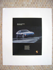 PORSCHE 968 COUPE SPORTS CAR OFFICIAL SHOWROOM POSTER 1992