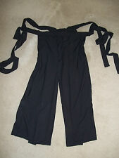 Custom Made Japanese Yoroi Hitatare Hakama Pants Trousers Samurai Ninja Larp