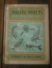 Aquatic Insects And How They Live Robert M. McClung Hc/Dj Vtg Rare Htf 1970 1st